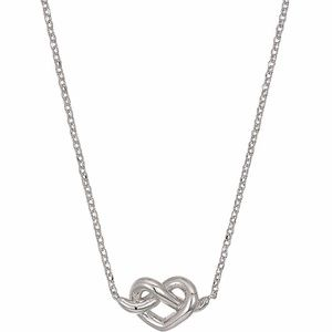 kate spade Loves Me Knot Mini Pendant necklace